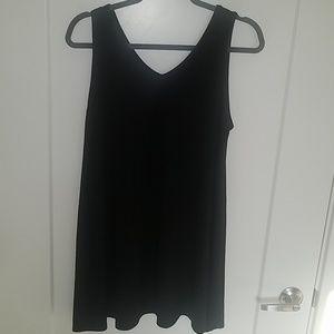 Zenana outfitters black tank dress